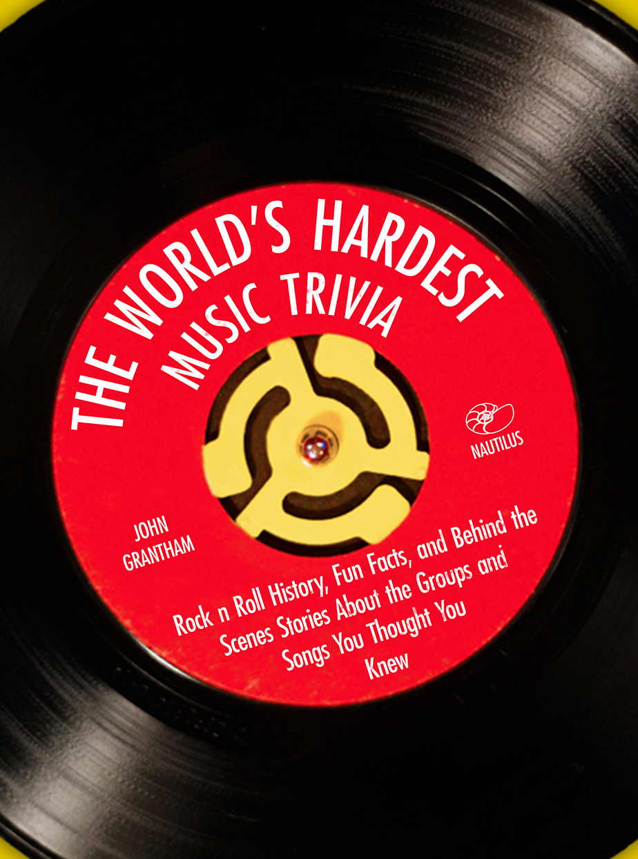 World's Hardest Rock and Roll Trivia  |  Interior for trivia book