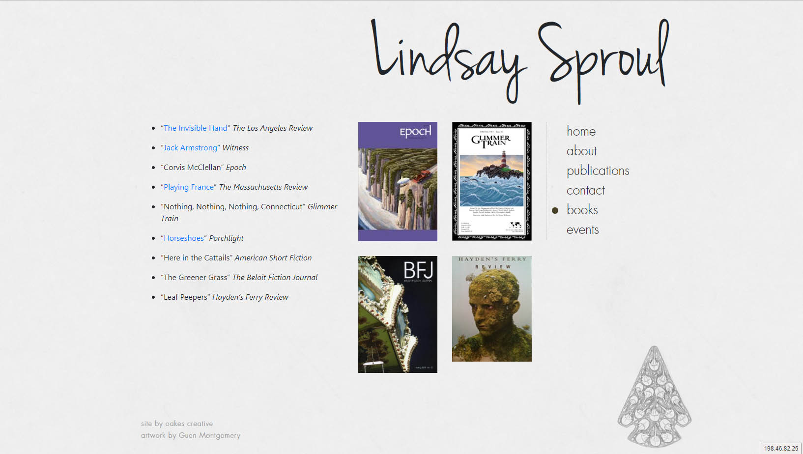 Lindsay Sproul  |  Author website