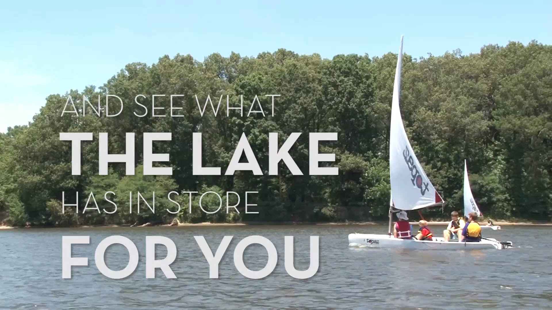 The Lake  |  Promo video for a Blackjack Sailing camp